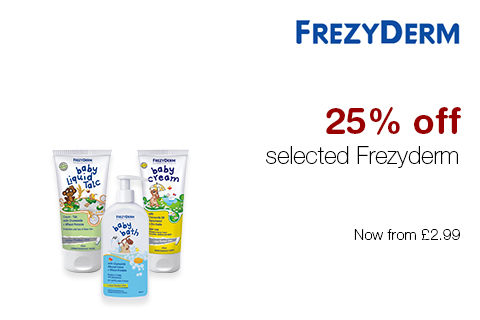 25% off selected Frezyderm