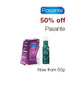 50% off Pasante