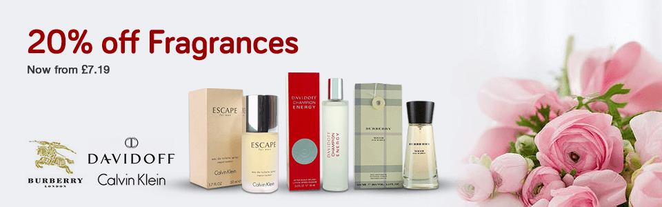 20% Off Fragrances