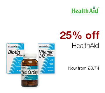 5fc47b43848 25% Off HealthAid Vitamins at Chemist Direct
