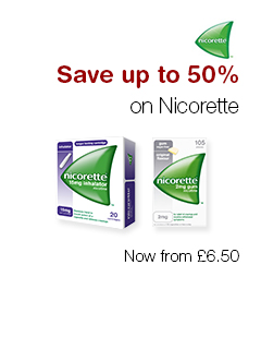 Save up to 50% on Nicorette
