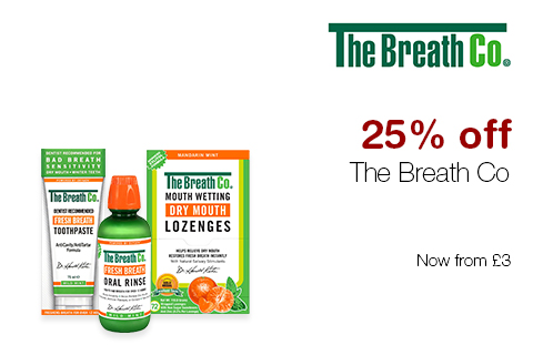25% off The Breath Co