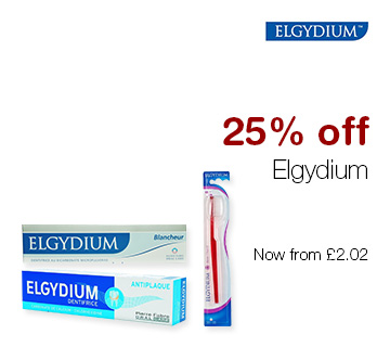 25% off Elgydium