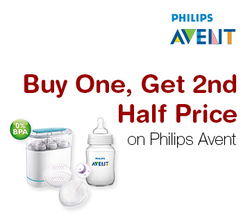 Buy One, Get 2nd Half Price on Philips Avent