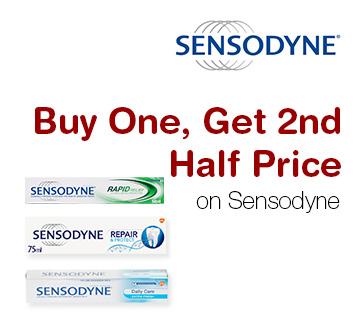 Buy One, Get 2nd Half Price on Sensodyne