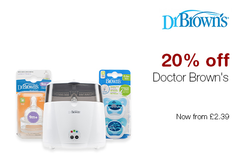 20% off Doctor Brown's