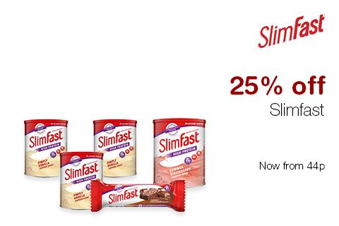 25% off Slimfast