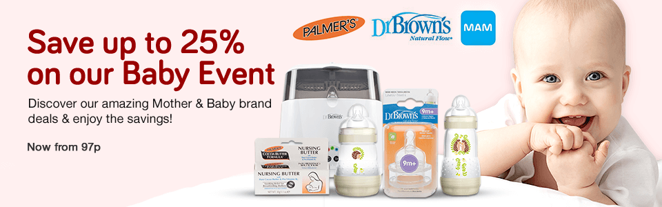 25% Off Baby Event