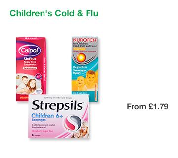 Childrens Cold & Flu