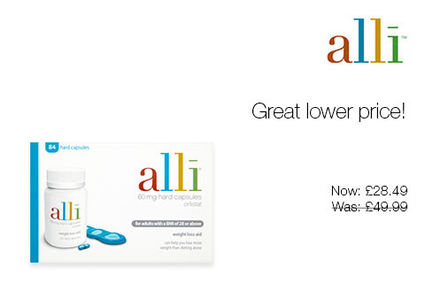 Alli Great lower price!