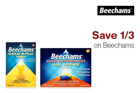 Save 1/3 on Beechams
