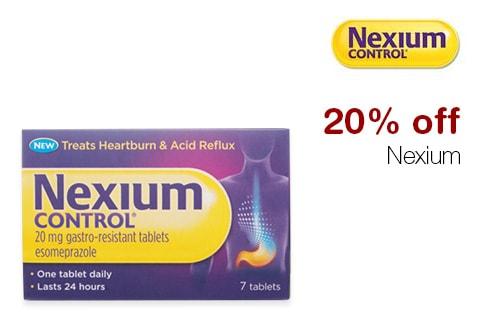 20% off Nexium