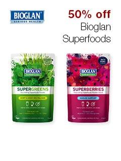 50% off Bioglan Superfoods