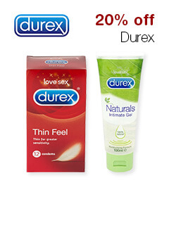 20% off Durex
