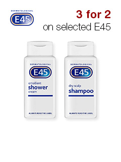 3 for 2 on selected E45