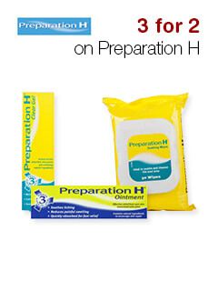 3 for 2 on Preparation H