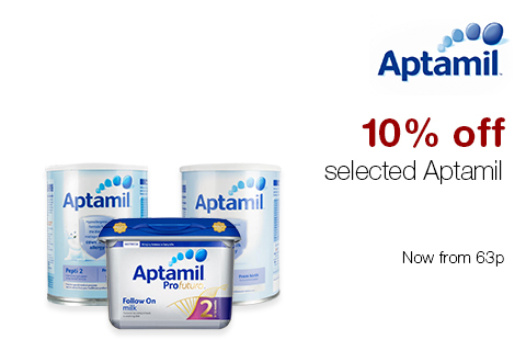 10% off selected Aptamil