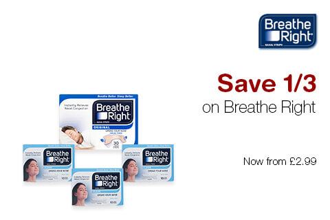 1/3 Off Breathe Right
