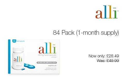 Alli Slimming Capsules only £28.49