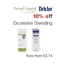 10% off Excessive Sweating