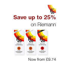 up to 25% OFF Riemann Sun care