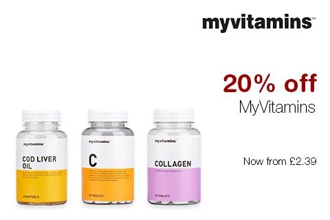 20% off MyVitamins