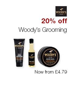 20% off Woody's Grooming