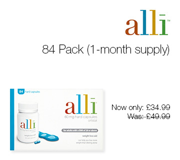 Alli 84 Pack (1-month supply)