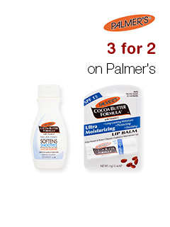 3 for 2 on Palmer's