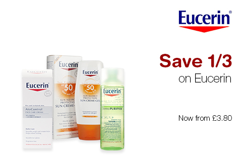 Save 1/3 on Eucerin