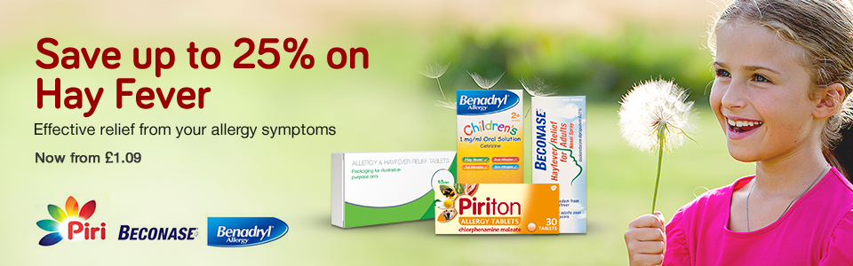 25% Off Hay Fever