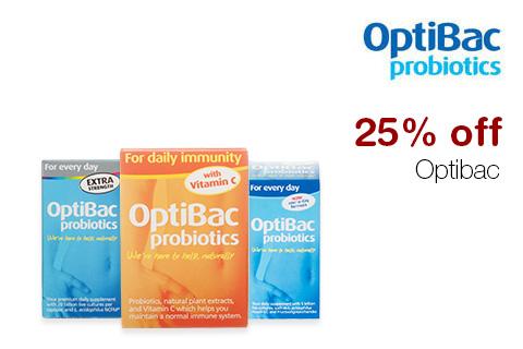 25% off Optibac