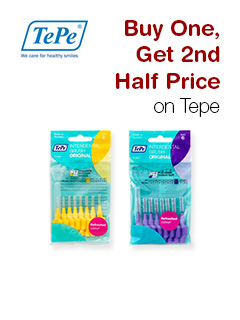 Buy One, Get 2nd Half Price on Tepe