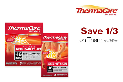Save 1/3 on Thermacare