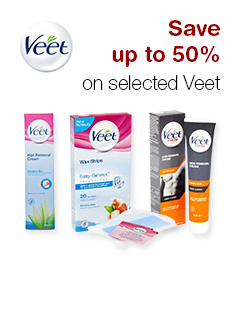 Save up to 50% on selected Veet