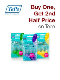 Buy One, Get 2nd Half Price on Tepe