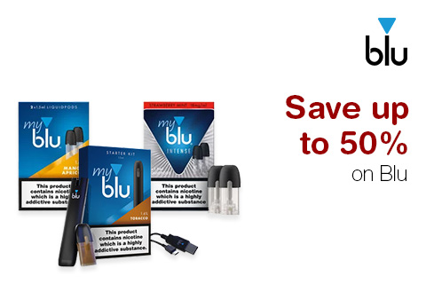 Save up to 50% on Blu