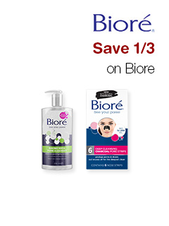 Save 1/3 on Biore