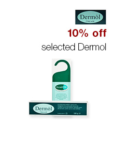 10% off selected Dermol