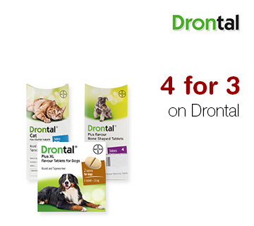 4 for 3 on Drontal