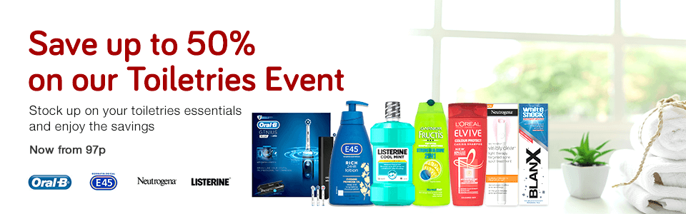 Toiletries Event