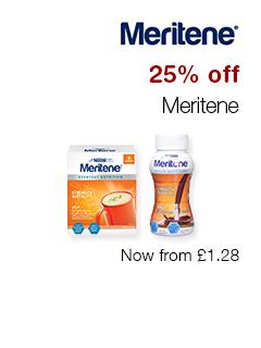 25% off Meritene