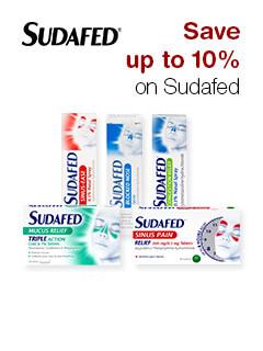 Save up to 10% on Sudafed