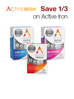 Save 1/3 on Active Iron