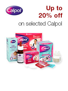 Save 10% on selected Calpol