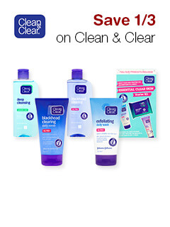 Save 1/3 on Clean & Clear