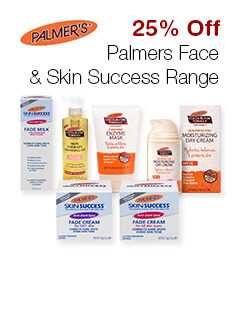 25% Off Palmes Face & Skin Suceess Range