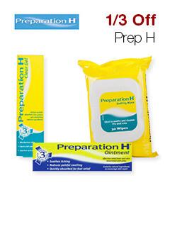 1/3 Off Prep H