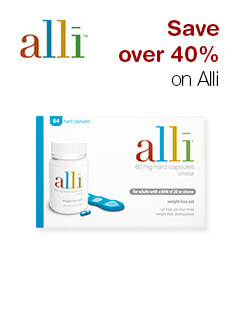 Save over 40% on Alli