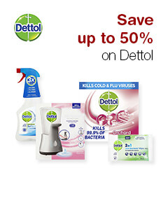 Save up to 50% on Dettol